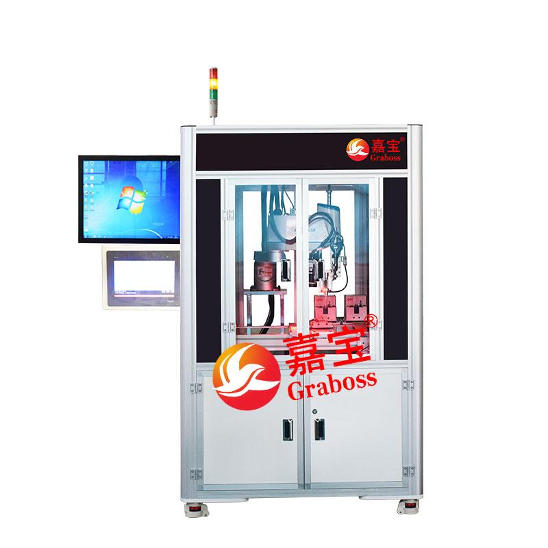 上海机器人手臂+CCD视觉自动打螺丝机案例