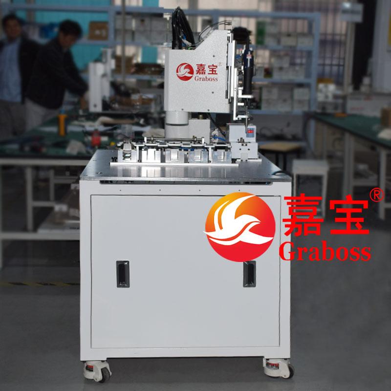 江苏某有限公司机器人自动锁螺丝机锁投影仪配件