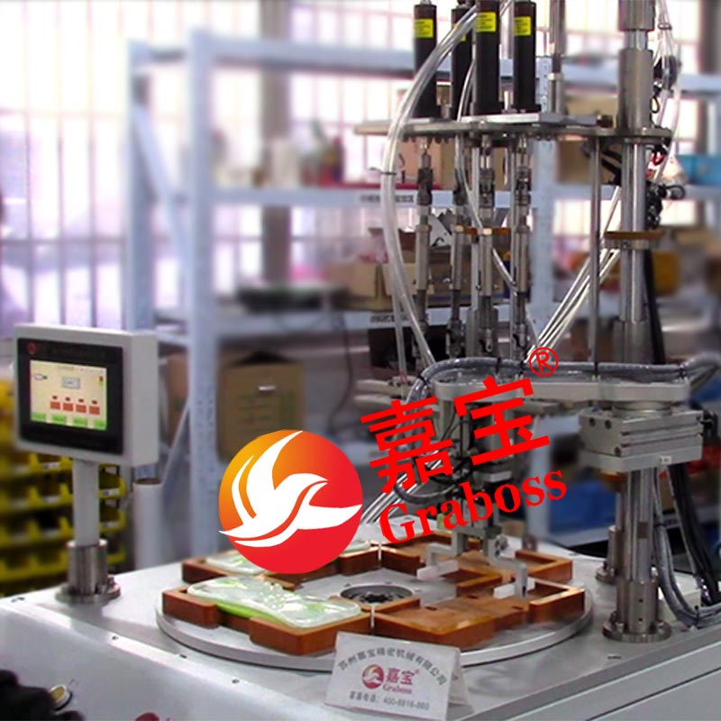 宁波市某有限公司落地转盘式锁清洁类螺丝机案例