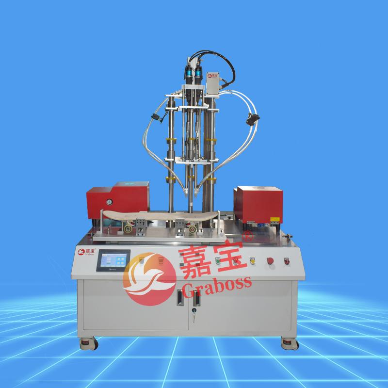 嘉宝柜式四轴气吹式拧滑板车螺丝机-缩略图