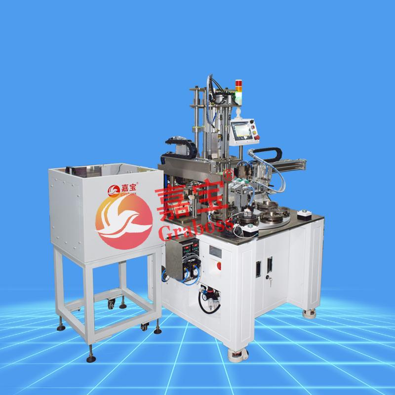 非标定制螺丝机-柜式振动盘锁+点胶马达产品螺丝机-缩略图