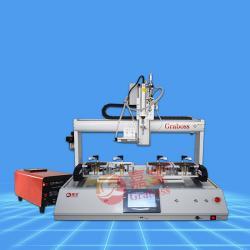 桌面吹吸式四轴拧锁具产品螺丝机