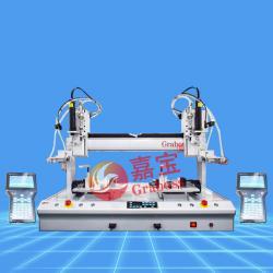 桌上型双三轴磁吸+气吹式拧螺丝机