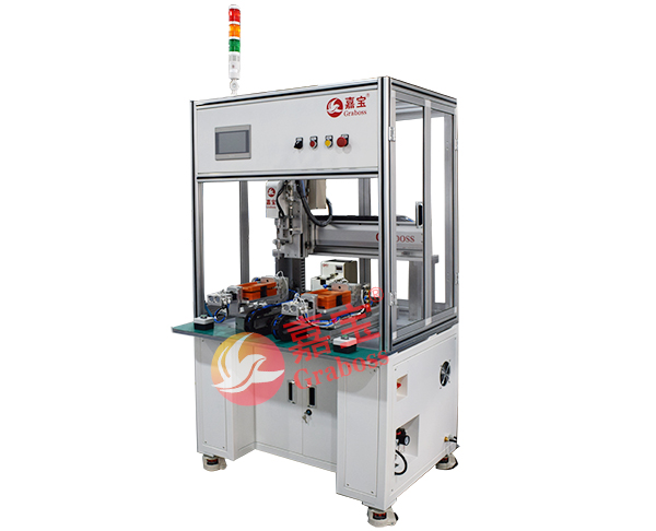 桌上型自动旋转打印机配件锁螺丝机图
