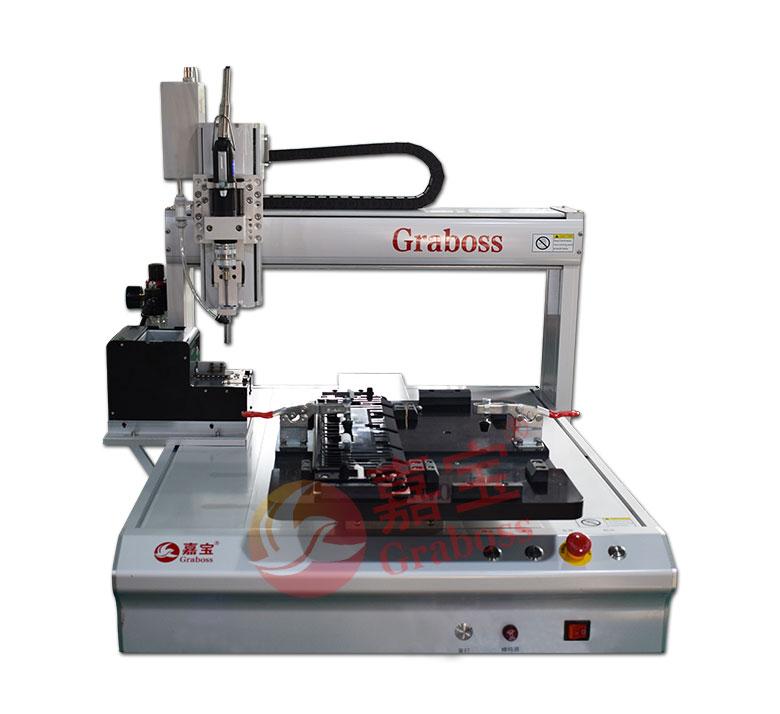 桌面型气吸式打印机配件拧螺丝机图