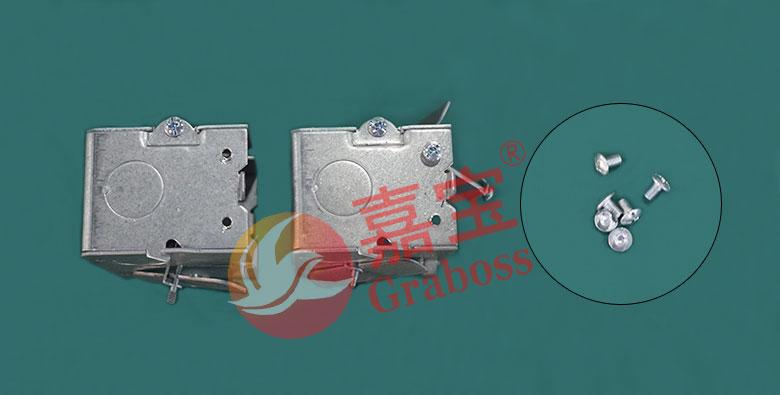 坐标式双Y轴伺服锁五金配件样品图